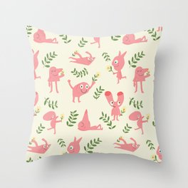 MUR´S SPRING Throw Pillow