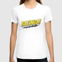 bazinga T-shirts featuring Bazinga Flash by Nxolab