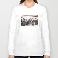 band Long Sleeve T-shirts featuring Rock Band by Orbon Alija