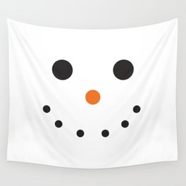 Snowman Holiday Wall Tapestry