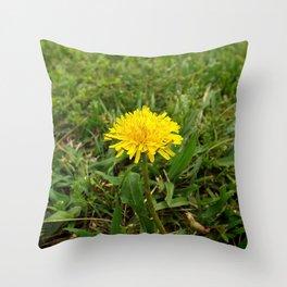 Dandelion Perfection Throw Pillow