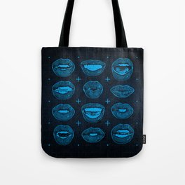 Talking Lips Tote Bag