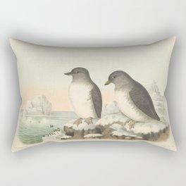 040 Cassins Guillemot or Aleutian Auk ptychorhamphus aleuticus5 Rectangular Pillow