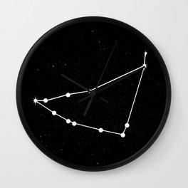 CAPRICORN (BLACK & WHITE) Wall Clock