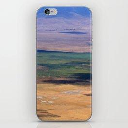 Ngorongoro Crater Tanzania iPhone Skin