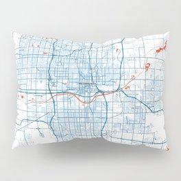 FanMap | NBA Oklahoma City #01 Pillow Sham