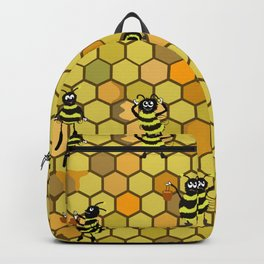 Cute cartoon bees Backpack