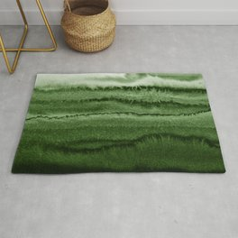 WITHIN THE TIDES FOREST GREEN by Monika Strigel Rug
