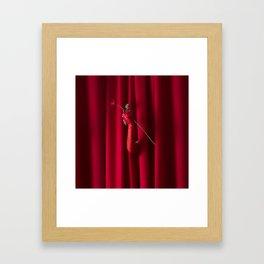 Red for Filth Framed Art Print