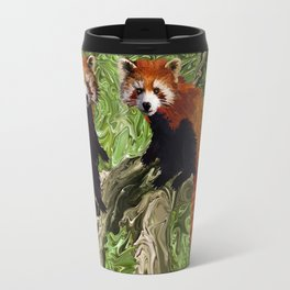 Frolicking Red Pandas Travel Mug
