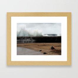 safe & sound Framed Art Print