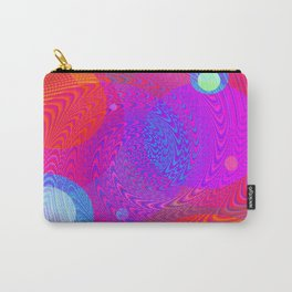 Re-Created Twisters No. 6 by Robert S. Lee Carry-All Pouch