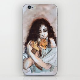 My fox, my love iPhone Skin