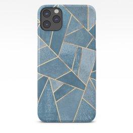 Dusk Blue Stone iPhone Case