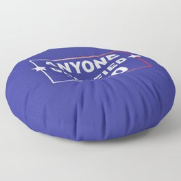 ANYONE QUALIFIED 2020 Floor Pillow