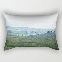 Serpentine Hot Springs Rectangular Pillow