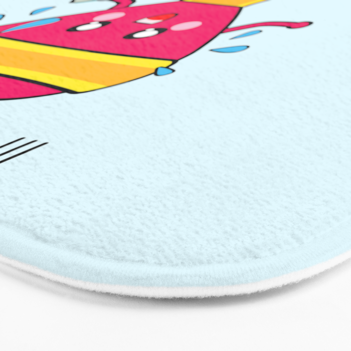 My heart goes faster for you Bath Mat