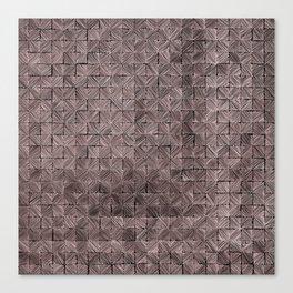 Ink Stitch: Rose Gold Canvas Print