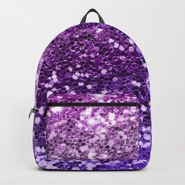 Mermaid Glitters Sparkling Purple Cute Girly Texture Backpack