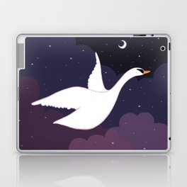 Follow the Pretty Bird Across the Sky Laptop & iPad Skin
