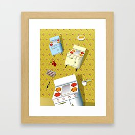 Time to cook! Framed Art Print
