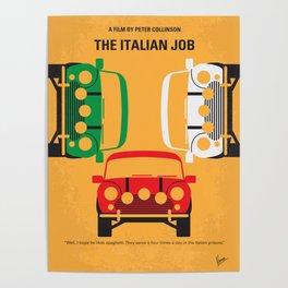 No279 My The Italian minimal movie poster Poster