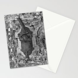 BLM- Robert E Lee - Black & White Stationery Cards