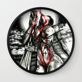 The bitch chronicles Wall Clock