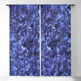 Abalone Shell | Paua Shell | Sea Shells | Patterns in Nature | Dark Blue Tint | Blackout Curtain