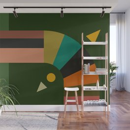 turning Wall Mural