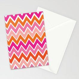 Retro Rainbow Stationery Cards