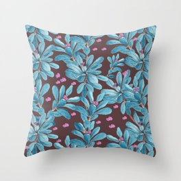 Shadow of Euphorbia Throw Pillow