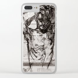 Morning Sunshine Clear iPhone Case
