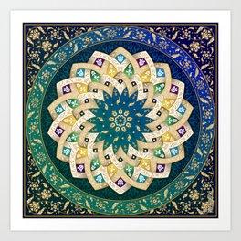 Twin Stars Art Print