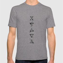 The Witcher Signs - vertical T-shirt