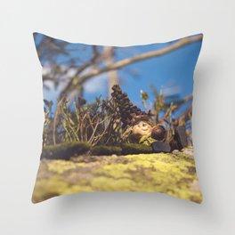 Wood Elf II Throw Pillow