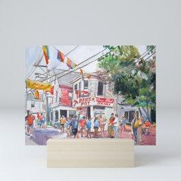 Lobster Pot, Provincetown Mini Art Print