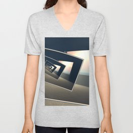 Surreal Windows Unisex V-Neck