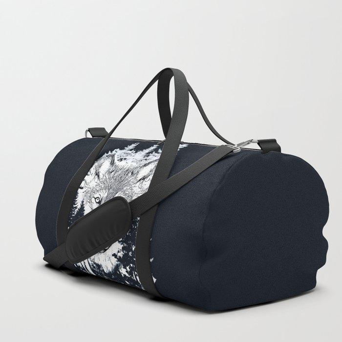 Forest Wolf Art Duffle Bag
