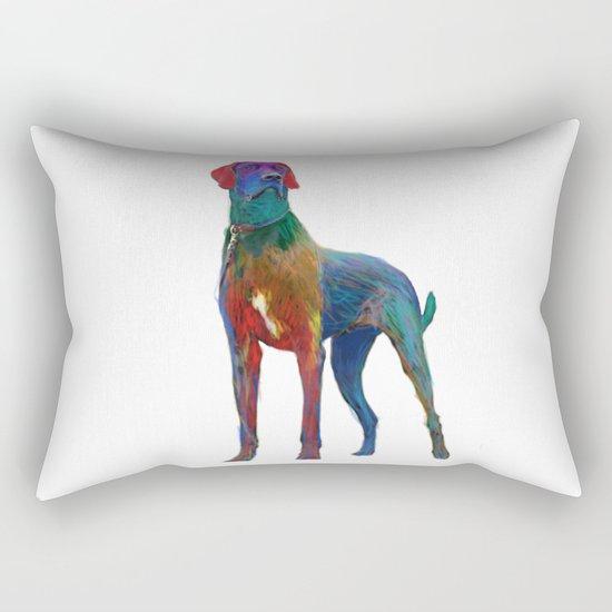 Great Dane Uncropped Rectangular Pillow