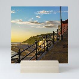 Cromer seafront Mini Art Print