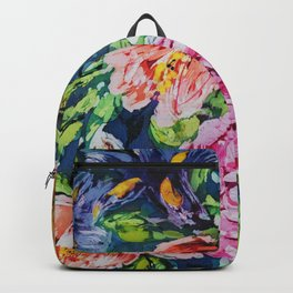 Brushy Roses Backpack