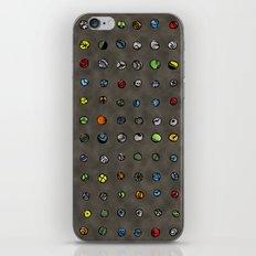 Imaginary Agates (Warm Dark Sand Tones) iPhone Skin