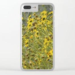 Brittle Bush 3 At Coachella Wildlife Preserve Clear iPhone Case