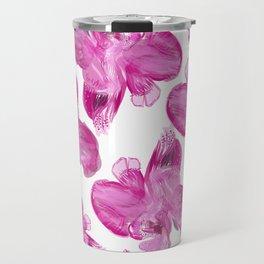 Orchids Purple Pink Travel Mug