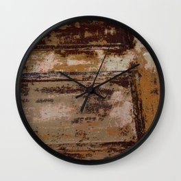Paint chips 1 Wall Clock