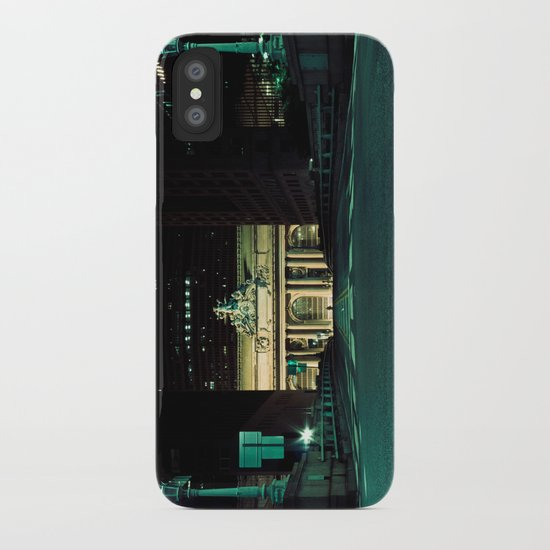 New York City, Grand Central Terminal   cinematic iPhone Case