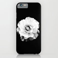 Black and White Rose Blossom... Slim Case iPhone 6s