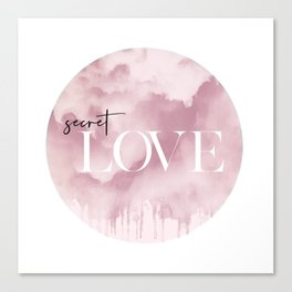 Secret Love Canvas Print
