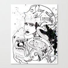 CARPE DIEM SOUS LES MERS Canvas Print